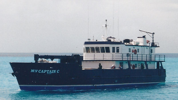 M/V Captain C , serving Staniel Cay & Black Point, Exumas