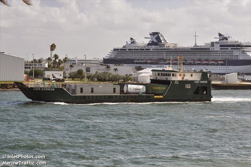 m v cape express seacor island lines serving 16 islands ports in