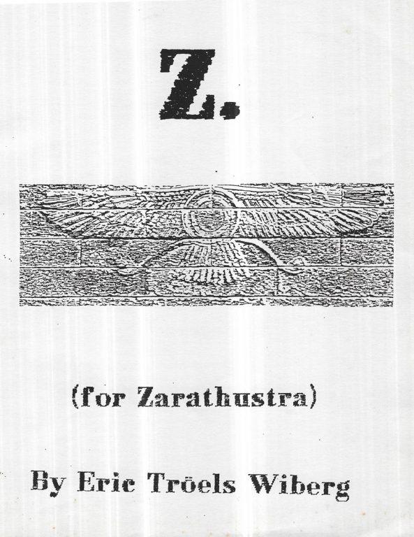 Z for Zarathustra